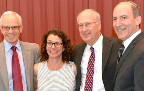Mrs. Shpall Receives the Milken Family Foundation Jewish Educator Award