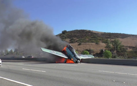 Plane Crashes on the 101: No One Injured