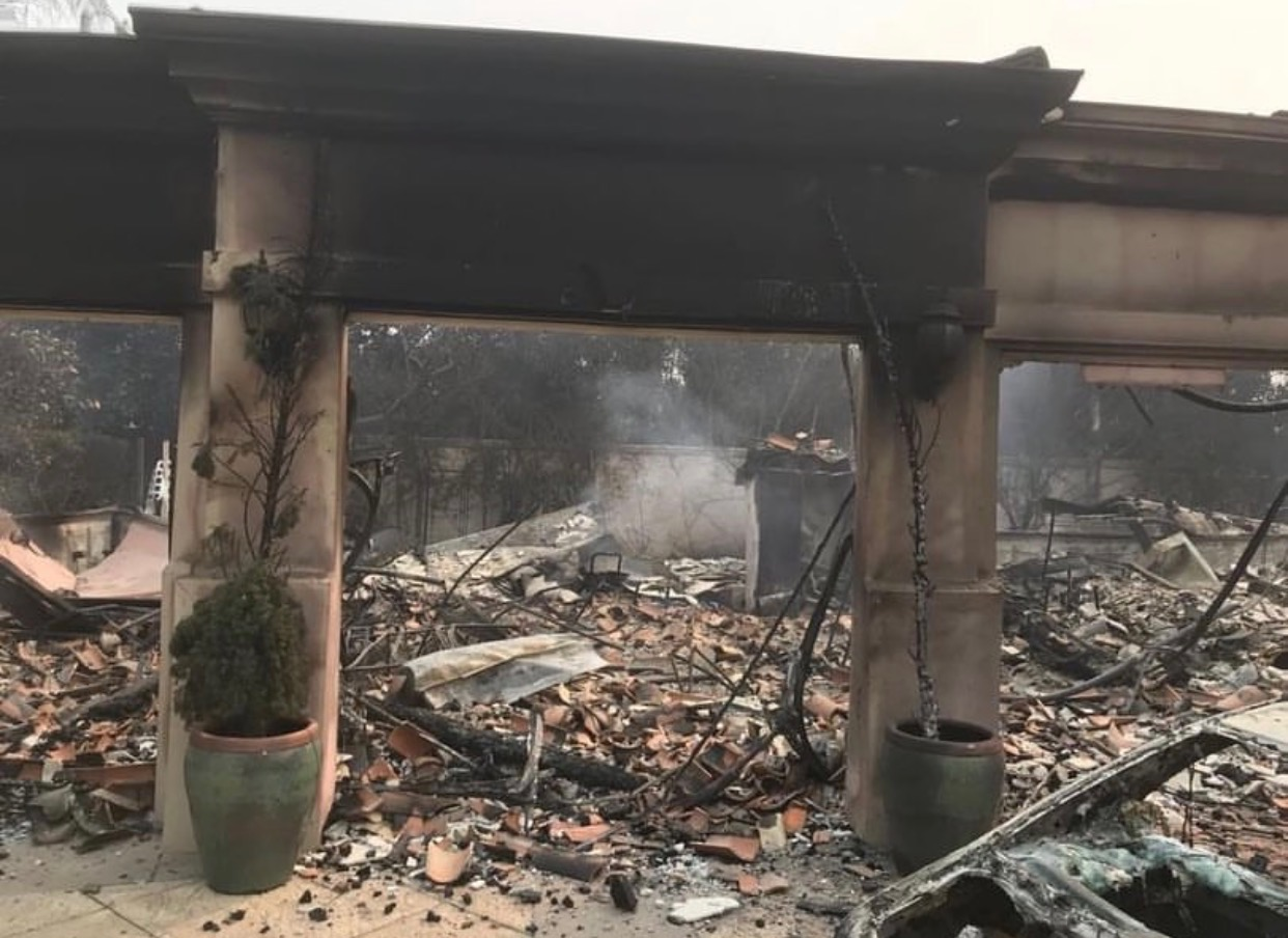 Many families lost everything to the fires