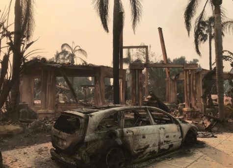 A Woolsey Fire Experience at deToledo High School