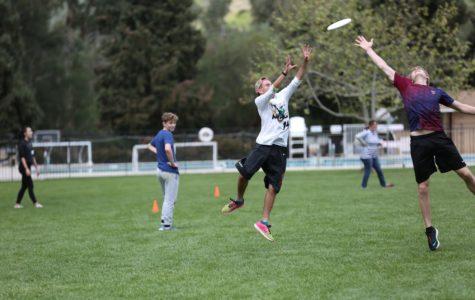 dTHS Joins Multi-School Ultimate Frisbee League