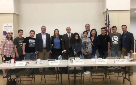 Five candidates running for the LA City Council District 12 seat joined American Politics Club for a panel discussion  in Rita's Room May 15, answering questions about homelessness and other challenges facing the city.