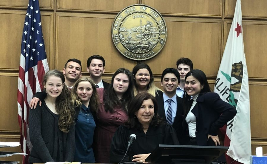 Mock Trial Makes a Mark