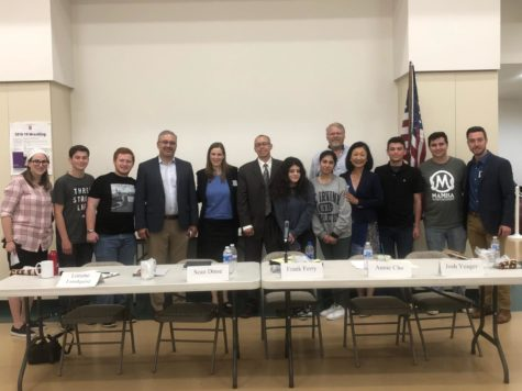 Five candidates running for the LA City Council District 12 seat joined American Politics Club for a panel discussion  in Rita