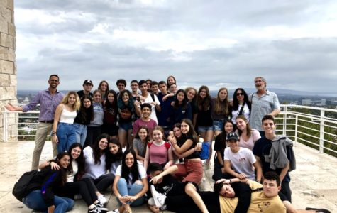 EIEP Group from Ohel Shem High School in Israel Arrives in LA