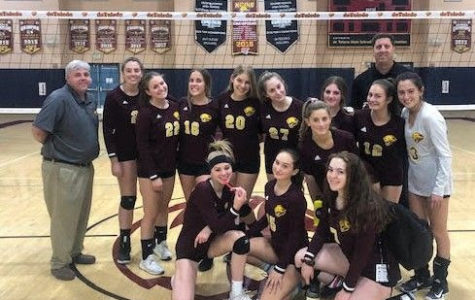 Girls Varsity Volleyball Team Captures Liberty League Championship